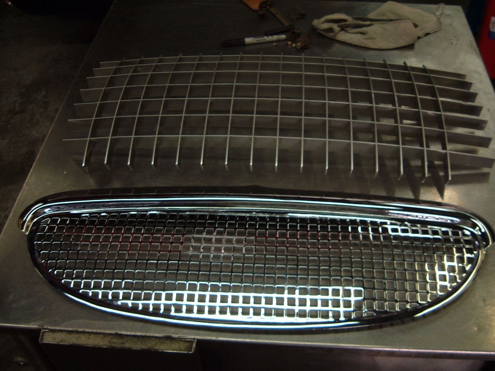 Metal Egg Crate Grille : Egg crate grill speedwell engineering