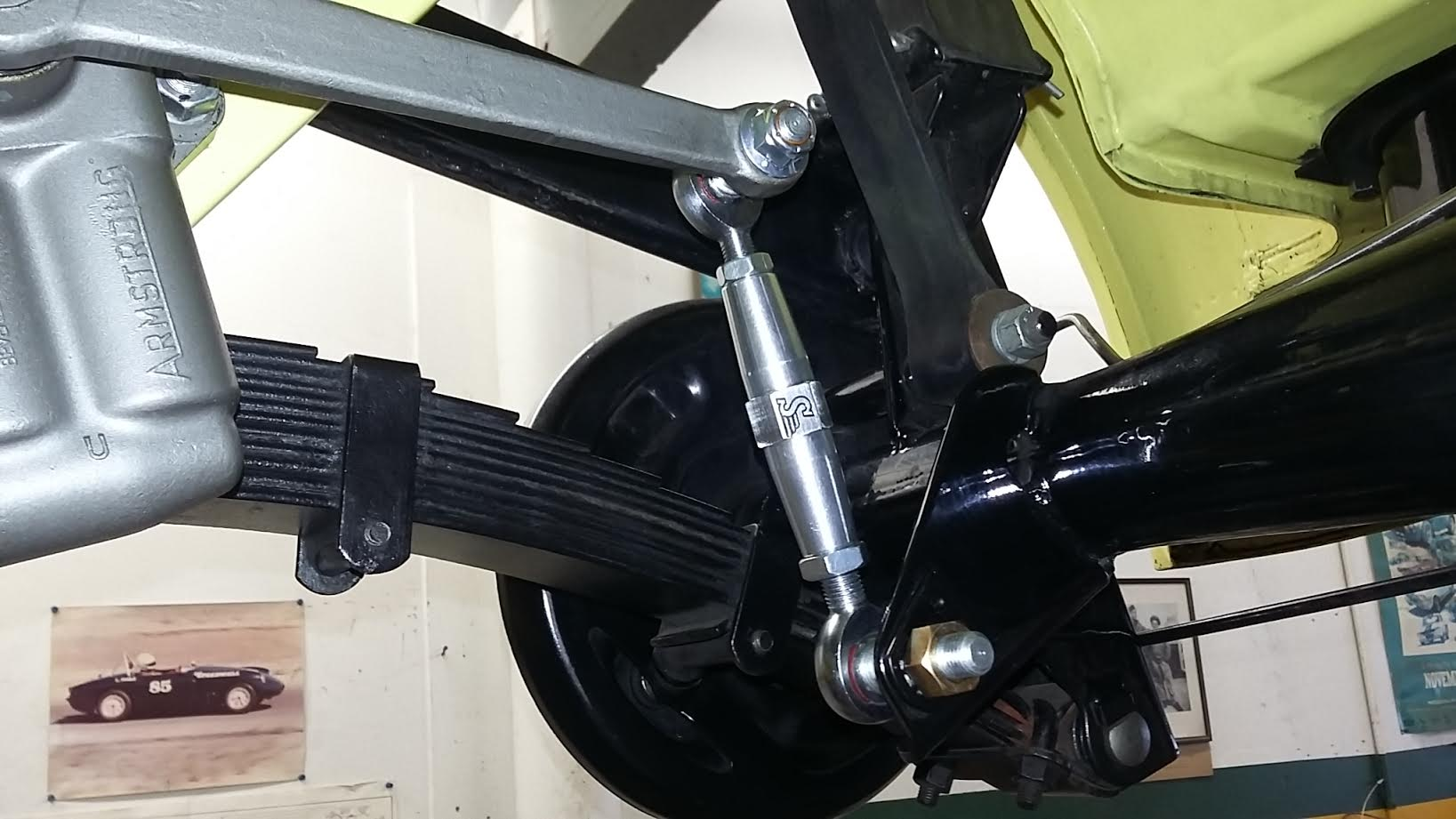Rear Shock Links Speedwell Engineering